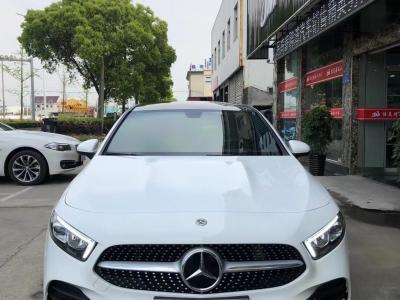 2020年8月 奔驰 奔驰A级  改款 A 200 L 运动轿车时尚型图片