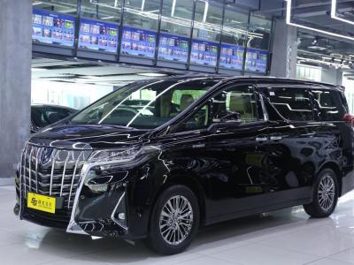 丰田 埃尔法  2019款  双擎 2.5L 豪华版