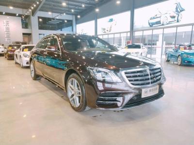奔驰 奔驰S级  2018款 S 450 L 4MATIC图片