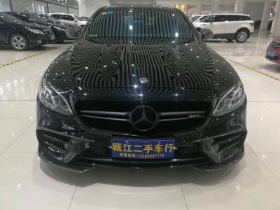 奔馳 奔馳E級  2017款 E200 Coupe 2.0T 4MATIC
