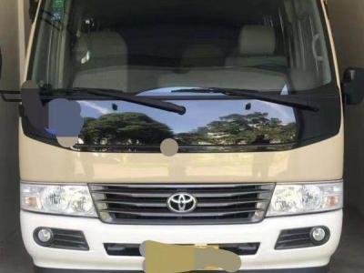 2016年8月 19座豐田考斯特汽油國四非營運南通牌照圖片
