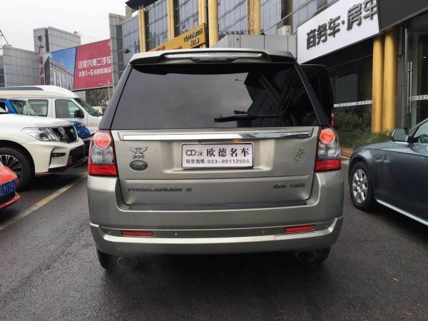 路虎 神行者  2012款 2.0T HSE汽油款圖片