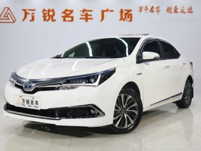 丰田 卡罗拉  2017款 1.8L CVT GLX-i