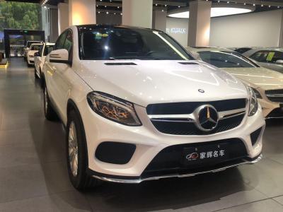 奔驰 奔驰GLE  2017款 GLE 320 4MATIC 轿跑SUV