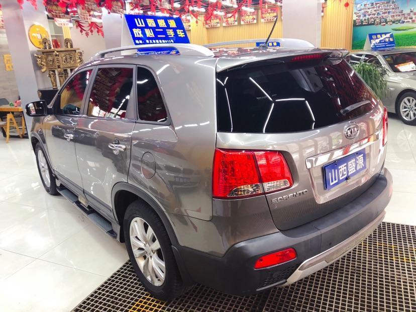 起亚 索兰托  2012款 2.4L 汽油至尊版图片