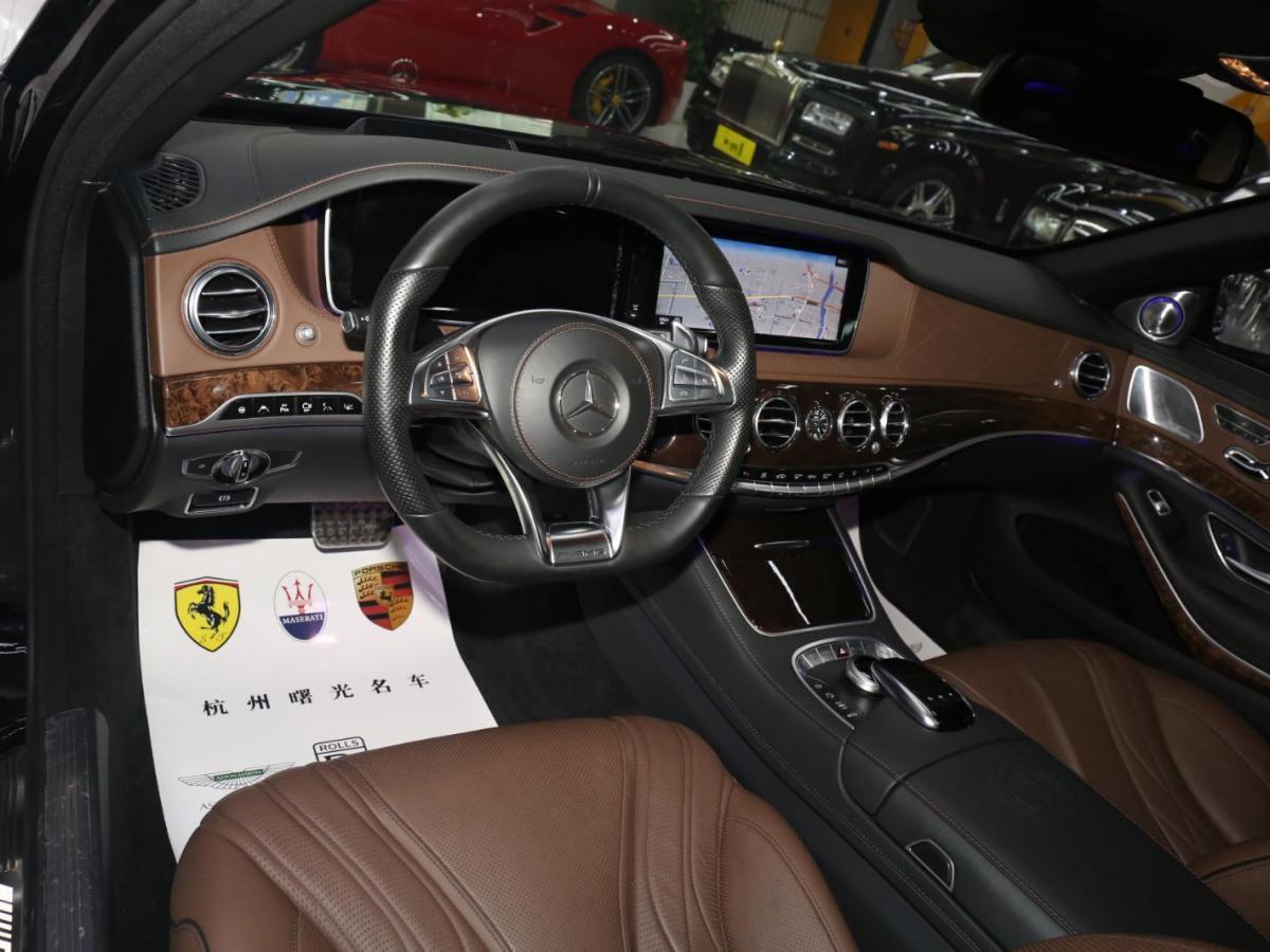 奔馳 奔馳S級AMG  2014款 AMG S 65 L圖片