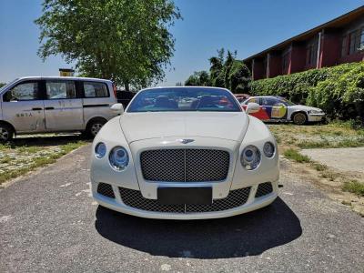 宾利 欧陆  2012款 6.0T GTC W12图片