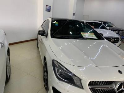 奔驰 奔驰CLA级  2017款 改款 CLA 260 4MATIC