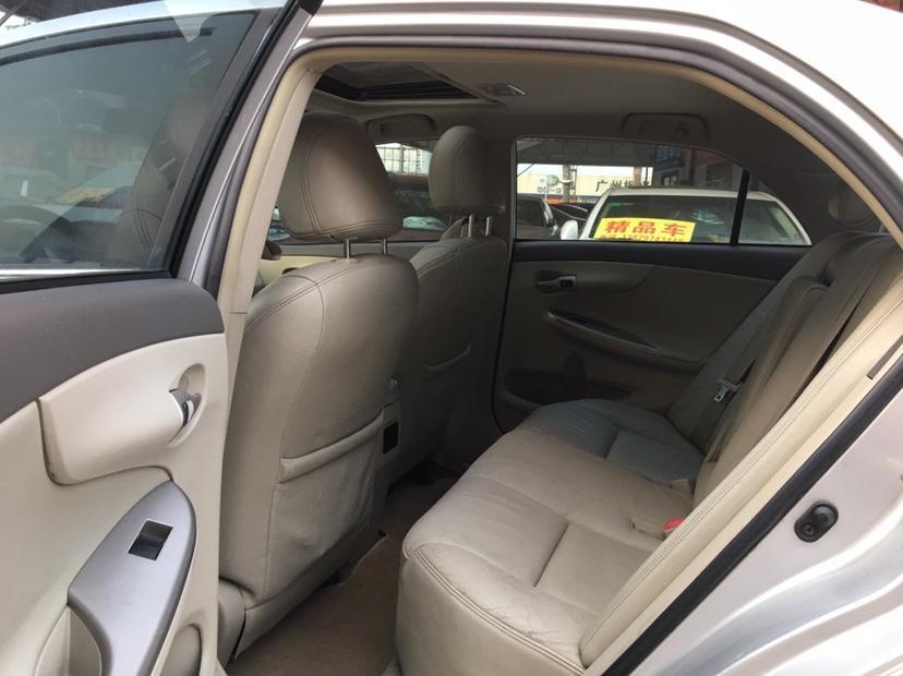 丰田 卡罗拉  2008款 1.8L 自动GL-i天窗特别版图片