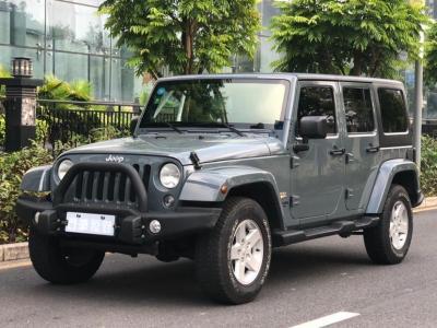2015年4月 Jeep 牧马人  2.8TD Sahara 四门版?#35745;?/>                         <div class=