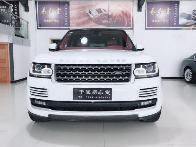 2015年8月 路虎 揽胜行政版  3.0T SC Vogue 汽油型图片