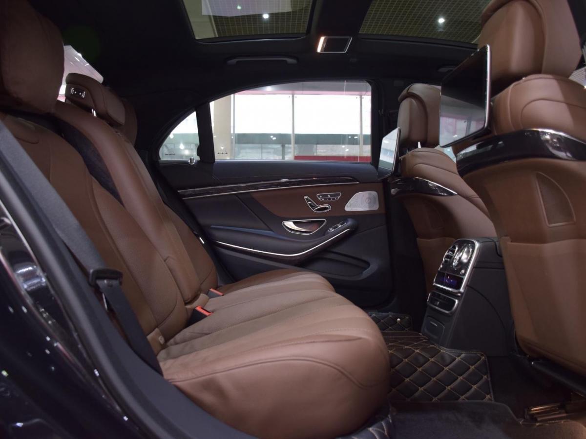 奔驰 奔驰S级  2019款 S 450 L 4MATIC图片