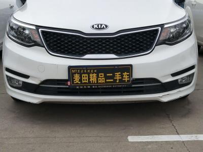 2015年6月 起亚 K2  三厢 1.4L AT GLS图片