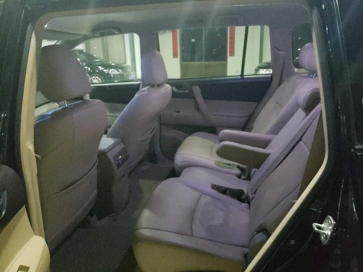 丰田 汉兰达  2009款 3.5L 四驱7座精英版图片