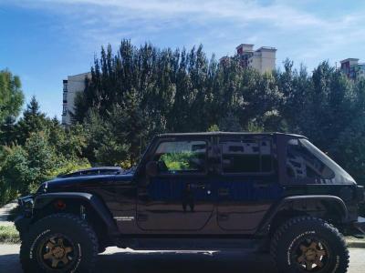 Jeep 牧马人  2013款 3.6L Sahara 四门版