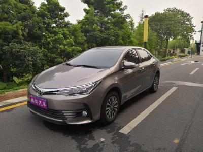 2019年8月 丰田 卡罗拉 改款 1.2T S-CVT GL-i图片