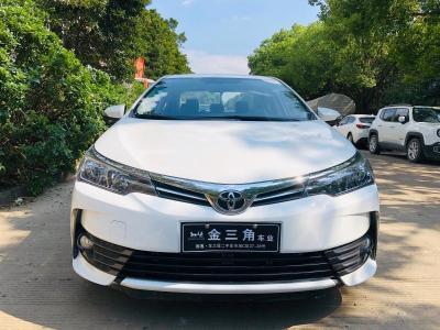 2019年1月 丰田 卡罗拉 改款 1.2T S-CVT GL图片