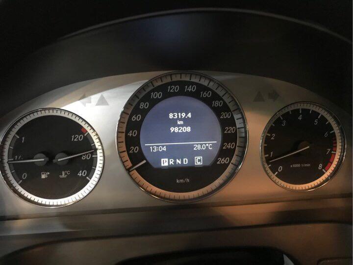 奔馳 奔馳C級  2008款 C 200K 時尚型圖片