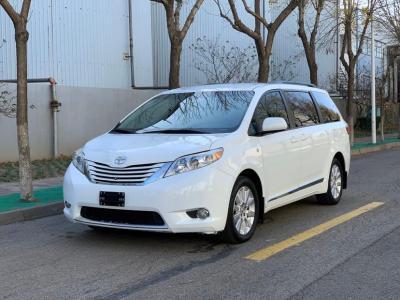2015年12月 丰田 塞纳(进口) 3.5L 四驱L图片