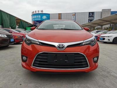 2015年6月 丰田 雷凌 1.6G CVT橙色限量版图片