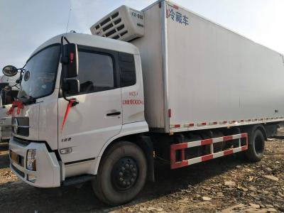 东风天锦单桥冷藏车,国五排放图片