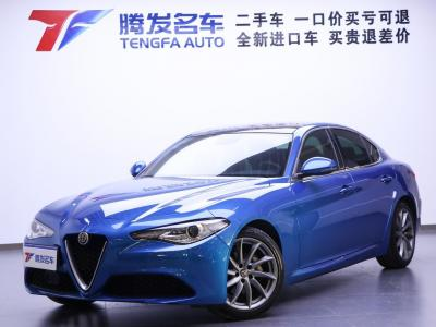 2019年1月 阿尔法·罗密欧 Giulia  2.0T 200HP 豪华版图片