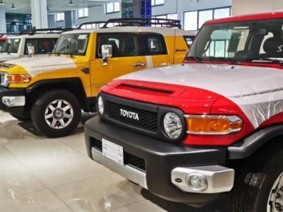 19迪拜款丰田FJ酷路泽8气双油气泵复古版 图片