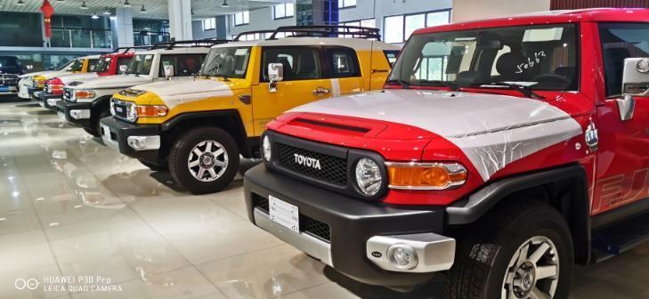 19迪拜款丰田FJ酷路泽8气双油气泵复古版图片