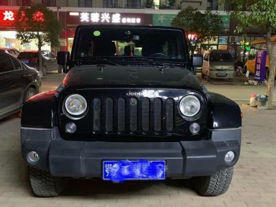 Jeep 牧馬人  2014款 3.0L Sahara 四門版