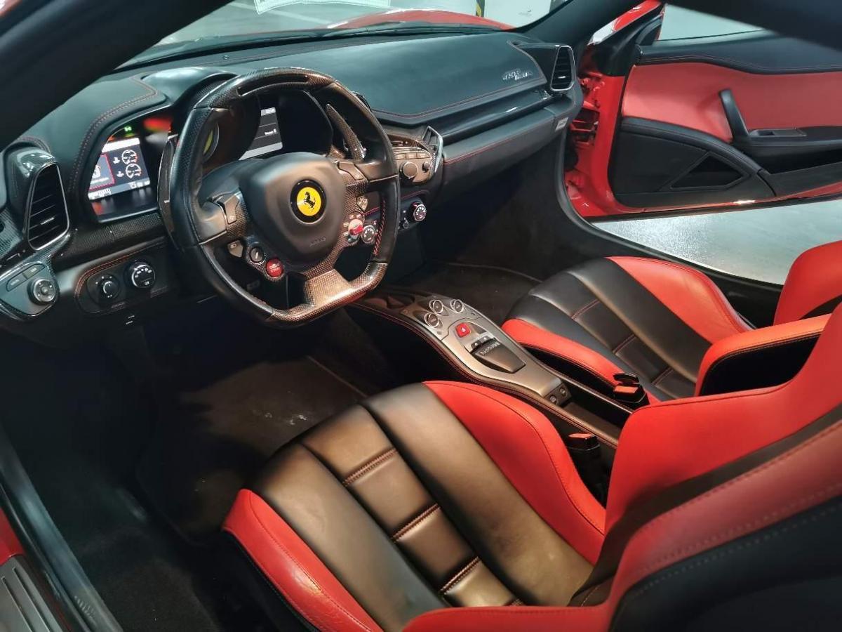 法拉利 458  2011款 4.5L Italia圖片