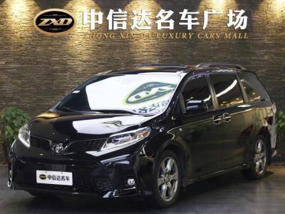 2019年7月 豐田 塞納(進口) 3.5L 兩驅LE圖片
