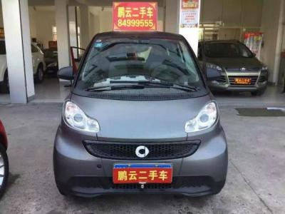 Smart Fortwo  Cabrio 1.0 MHD 城市光波激情版