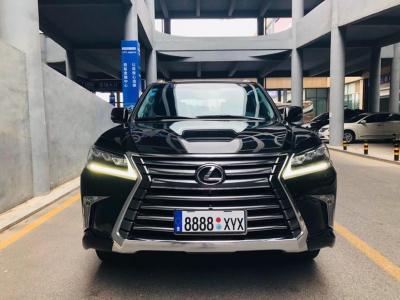 2018年9月 雷克萨斯 LX 570 动感豪华版图片