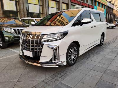 2018年3月 丰田 埃尔法(进口) 改款 3.5L 尊贵版图片