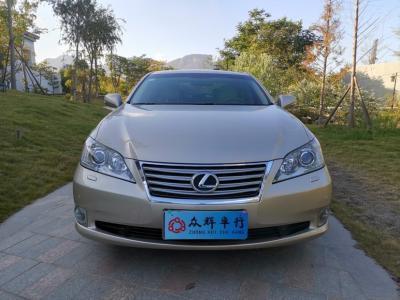 2011年8月 雷克萨斯 ES 240 豪华版图片