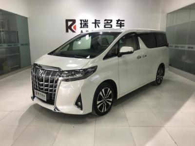 2019年2月 丰田 埃尔法(进口) 改款 3.5L 尊贵版图片
