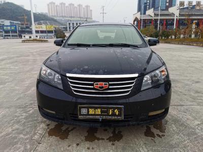 2012年6月 吉利 经典帝豪 三厢 1.8L CVT豪华型图片