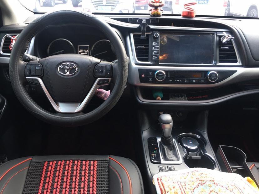 丰田 汉兰达  2018款 2.0T 四驱豪华版 7座 国VI图片