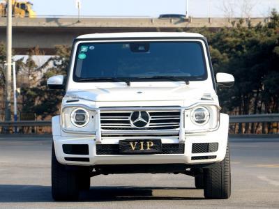 2019年7月 奔驰 奔驰G级(进口) 改款 G 500图片