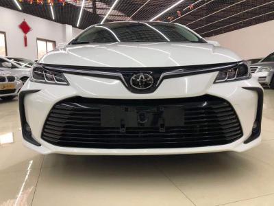 丰田 卡罗拉  2021款 1.2T S-CVT 旗舰版