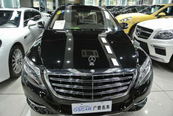 【杭州】2015年5月 奔驰 迈巴赫s级 s600 6.0t 黑色 手自一体图片