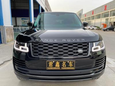 2019年4月 路虎 揽胜(进口) 3.0 V6 SC 传世版图片