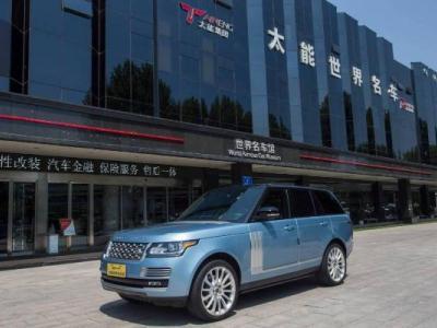 2014年11月 路虎 揽胜行政版 3.0T SC Vogue SE 创世加长版 汽油型图片