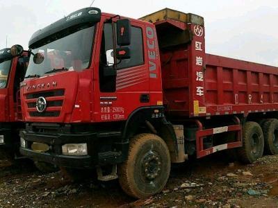 红岩金刚后八轮自卸车,国四排放图片