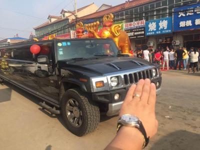 悍马 H2  2010款 6.2L 加长礼宾车5.98米