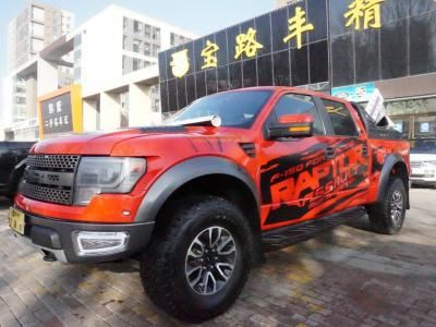 福特F-150 2011款 6.2L SVT SuperCrew图片