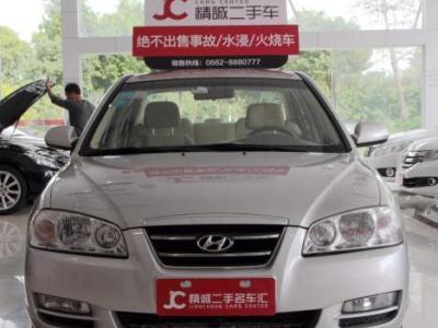 1月现代伊兰特三厢 1.6 舒适型-2007年1月 二手日产 骐达 1.6 GS 价高清图片