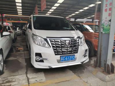 2012年2月 豐田 埃爾法(進口) 2.4L 豪華版圖片