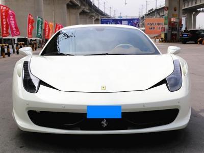 2012年11月 法拉利 458 4.5L Italia图片