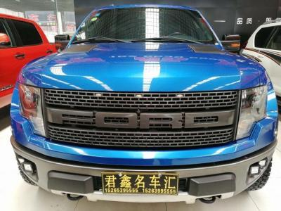 2013年10月 福特 F-150(进口) 6.2L SVT Raptor SuperCrew图片